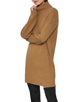 BCBGMAXAZRIA - Rib-Knit Turtleneck Sweater Dress