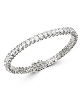 Bloomingdale's - Diamond Tennis Bracelet in 14K White Gold, 9.60 ct. t.w. - 100% Exclusive