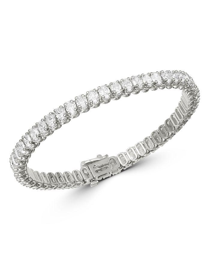 Bloomingdale's - Diamond Tennis Bracelet in 14K White Gold, 9.6 ct. t.w. - 100% Exclusive