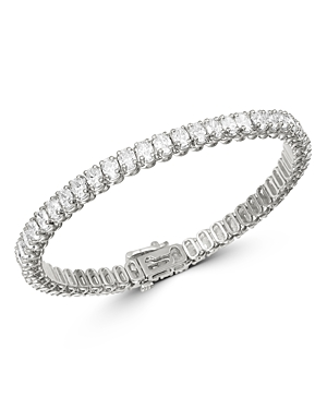 Bloomingdale's Diamond Tennis Bracelet in 14K White Gold, 9.6 ct. t.w. - 100% Exclusive