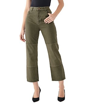 DL1961 - Jerry High-Rise Cropped Straight Vintage Jeans in Patras