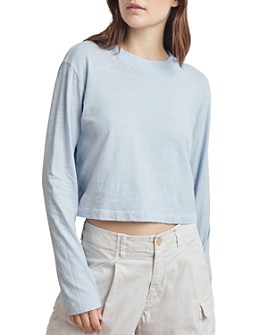 Velvet by Graham & Spencer - Cordie Cropped Tee