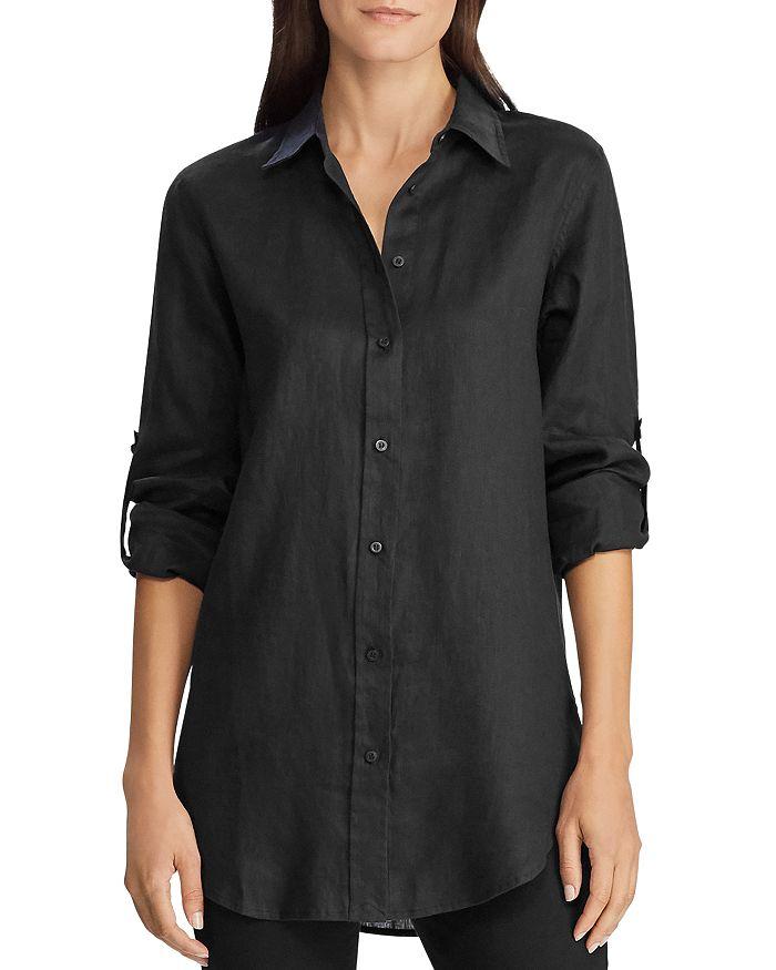 Ralph Lauren - Linen Roll-Tab Button-Down Shirt