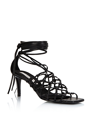 Stella McCartney Women\\\'s Cage High-Heel Sandals