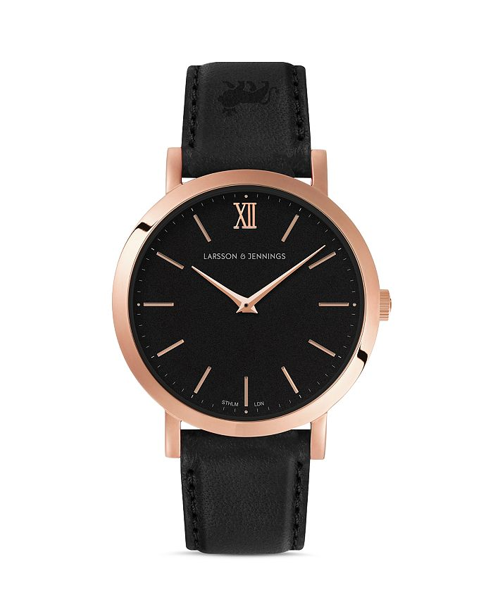 Larsson & Jennings - LJXII Leather Strap Watch, 33mm