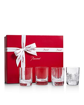 Baccarat - 4 Elements Double Old Fashioned Glass, Set of 4