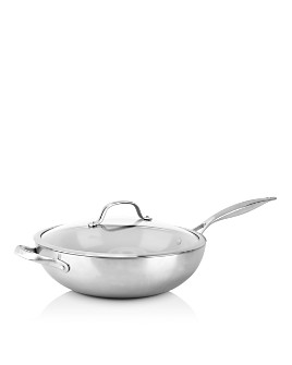 "GreenPan - Venice Pro 12"" Ceramic Nonstick Covered Wok"