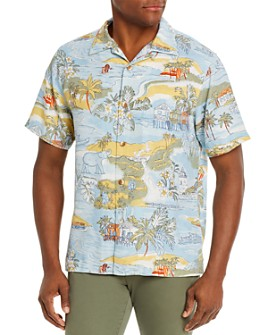 Tommy Bahama - Marina Beach Silk Regular Fit Short-Sleeve Shirt