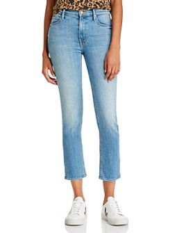 MOTHER - The Dazzler Ankle Straight-Leg Jeans in Camp Expert