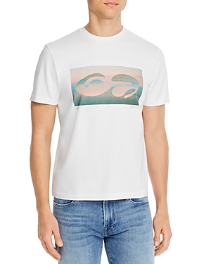 Frame Abstract Sunset Graphic Tee