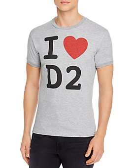 DSQUARED2 - Dan Fit Graphic Logo Tee