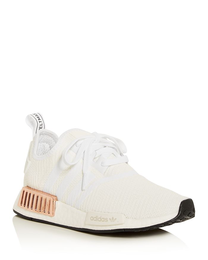 Adidas Originals Women S Nmd R1 Low Top Sneakers In White Core