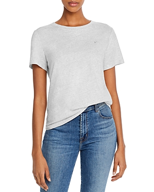 La Vie Rebecca Taylor Embroidered Short-Sleeve Tee