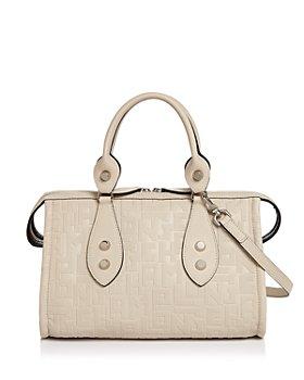 Longchamp - Voyage Leather Shoulder Bag