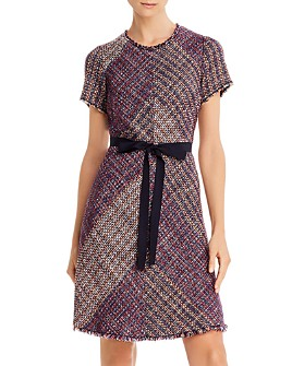 Rebecca Taylor - Blanket Tweed Dress