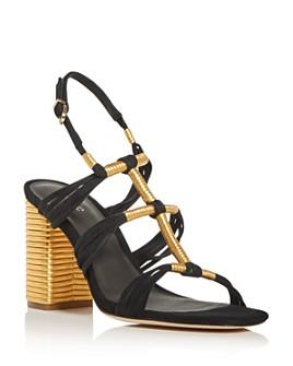 Joie - Women's Odell Strappy High Block-Heel Sandals