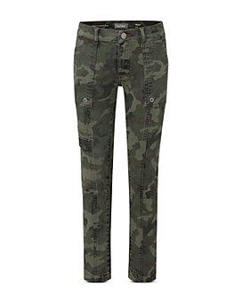 DL1961 - Boys' Brady Slim Straight Camo Print Jeans - Little Kid