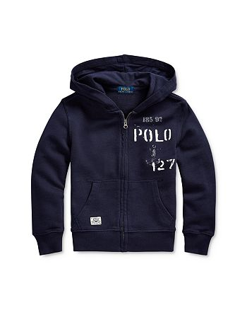 Ralph Lauren - Boys' Nautical Zip Hoodie - Little Kid