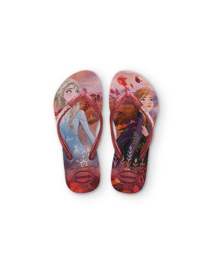 Havaianas Girls' Frozen Glitter Slim Flip-Flops - Walker, Toddler, Little Kid  | Bloomingdale's