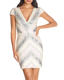 Dress the Population - Zoe Sequined Mini Dress