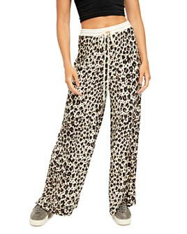 Free People - Cheet Day Wide-Leg Pants