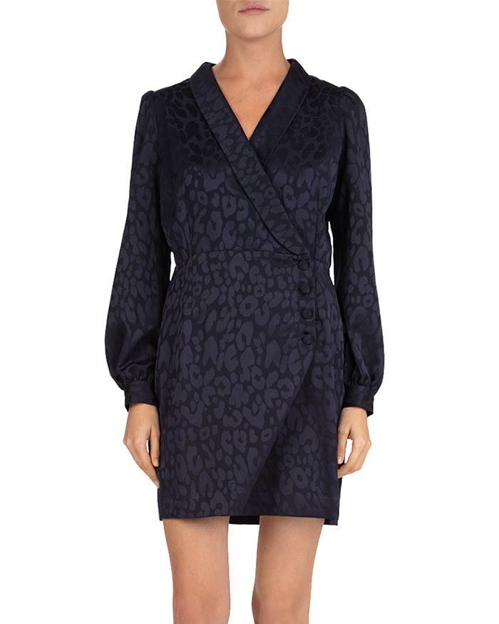 The Kooples - Crossover Blazer-Inspired Dress