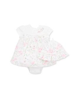 Little Me - Girls' Garden Dress & Hat Set - Baby