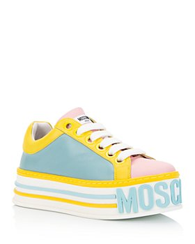 Moschino - Women's Logo Platform Sneakers