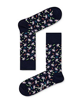 Happy Socks - Confetti Palm Socks
