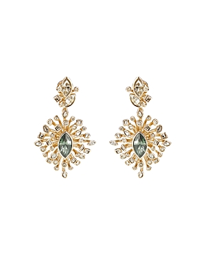 Alexis Bittar Asteria Crystal Burst Drop Earrings