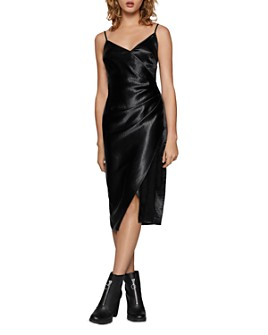 BCBGENERATION - Satin Crossover Dress