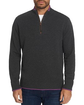 Robert Graham - Selleck Quarter-Zip Classic Fit Sweater