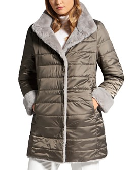 BASLER - Reversible Faux-Fur Puffer Jacket