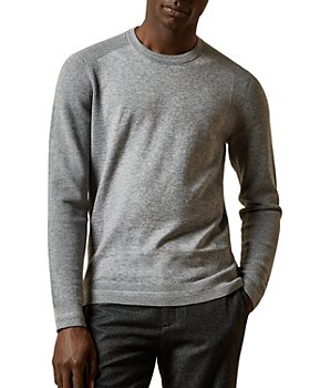 Ted Baker - Textured-Stitch Crewneck Sweater