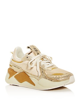 PUMA - Women's RS-X Winter Glimmer Low-Top Sneakers