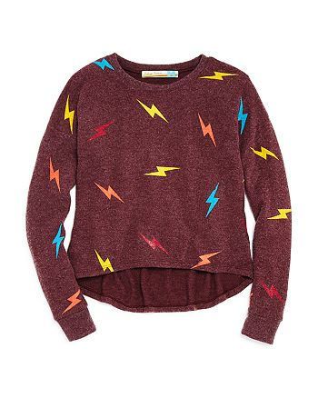 Vintage Havana - Girls' Lightning Bolt Top - Big Kid