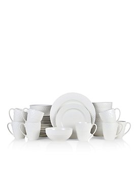 Gourmet Basics by Mikasa - Ellison 32-Piece Dinnerware Set - 100% Exclusive