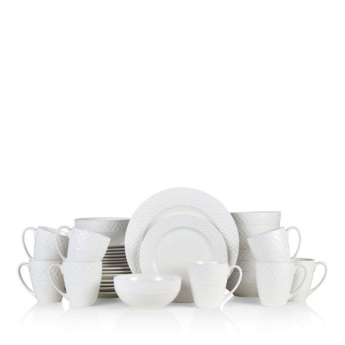 Gourmet Basics by Mikasa - Ellison 32-Piece Dinnerware Set - 100% Exclusive
