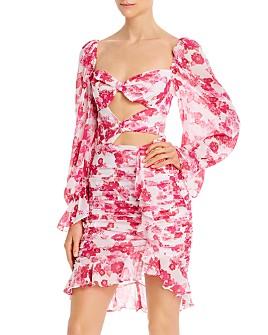 For Love & Lemons - Oahu Mini Bodycon Dress