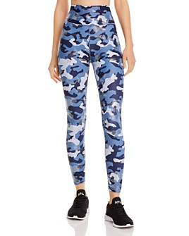 AQUA - High-Rise Camo Leggings - 100% Exclusive