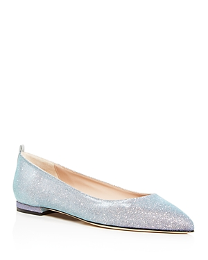 Sjp by Sarah Jessica Parker Women's Story Pointed-Toe Ballet Flats