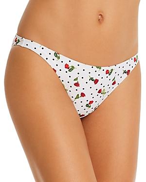 Onia Ashley Printed Bikini Bottom