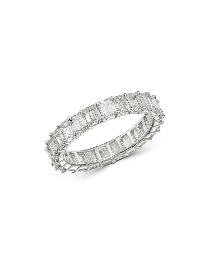 Bloomingdale's - Diamond Eternity Band in 14K White Gold, 4.0 ct. t.w. - 100% Exclusive