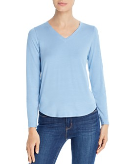 Eileen Fisher - Stretch Jersey V-Neck Top