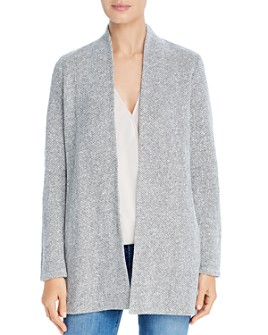Eileen Fisher - Organic Cotton Open-Front Cardigan