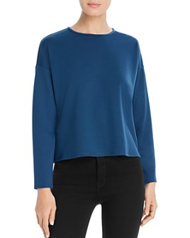 Eileen Fisher - Boxy Crewneck Top