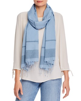 Eileen Fisher - Printed Organic-Cotton Scarf