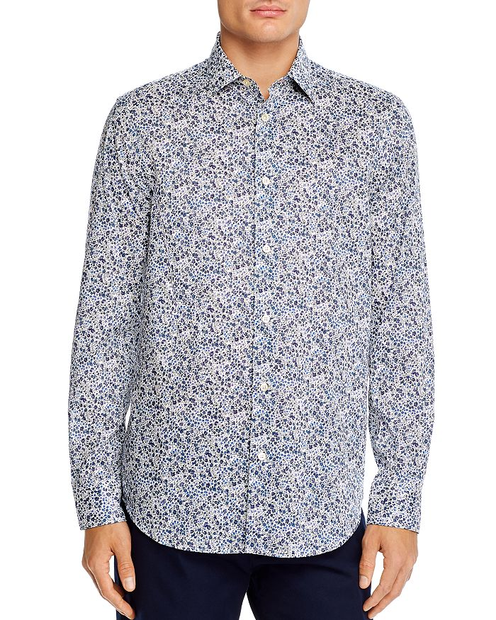 Paul Smith - Soho Gents Floral Button-Down TK Regular Fit Shirt