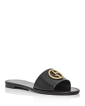 Armani - Women's Logo Slide Sandals