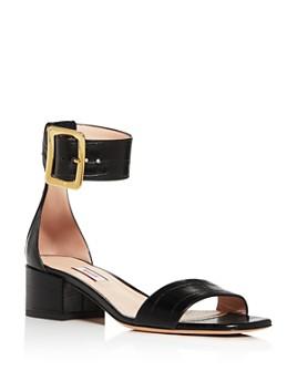 Bally - Women's Janise 40 Croc-Embossed Sandals